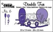 Double Fun stansen no. 6 / Double Fun dies no. 6