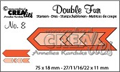 Double Fun stansen no. 8 / Double Fun dies no. 8