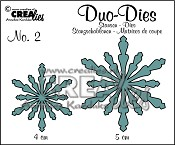 Duo Dies no. 2 Sneeuwvlokken 2 / Duo Dies no. 2 Snowflakes 2