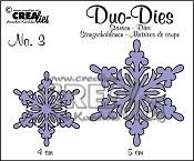 Duo Dies no. 3 Sneeuwvlokken 3 / Duo Dies no. 3 Snowflakes 3