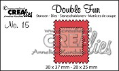 Double Fun stansen no. 15 / Double Fun dies no. 15