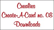 Downloads Crealies Create A Card no. 08