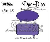 Duo Dies no. 18 Spreekwolkjes / Duo Dies no. 18 Speech bubbles