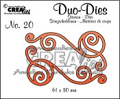 Duo Dies no. 20 Swirls 1