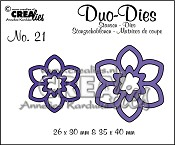 Duo Dies no. 21 Bloemen 12 / Flowers 12