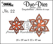 Duo Dies no. 22 Bloemen 13 / Duo Dies no. 22 Flowers 13