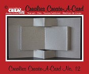 Crealies Create A Card stans no. 12 / Crealies Create A Card die no. 12