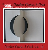 Crealies Create A Card stans no. 13 / Crealies Create A Card die no. 13