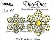 Duo Dies no. 23, Bloemen 14 / Flowers 14