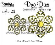 Duo Dies no. 23 Bloemen 14 / Duo Dies no. 23 Flowers 14