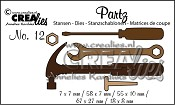 Partz stansen no. 12 klusgereedschap / tools for men