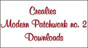 Downloads Modern Patchwork no. 2