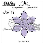 Uno stans no. 13 Bloem 9 / Uno die no. 13 Flower 9