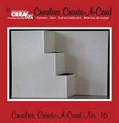 Crealies Create A Card stans no. 16/ Crealies Create A Card die no. 16