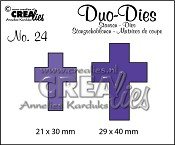 Duo Dies no. 24 Kruizen / Duo Dies no. 24 Crosses