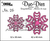 Duo Dies no. 26 Bloemen 16 / Duo Dies no. 26 Flowers 16
