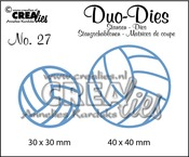 Duo Dies no. 27 Volleyballen / Volleyballs