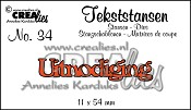 Tekststans no. 34 Uitnodiging