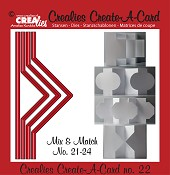 Crealies Create A Card stansen/dies  no. 22
