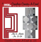Crealies Create A Card stansen/dies  no. 23