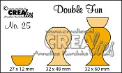 Double Fun stans no. 25 / Double Fun die no. 25