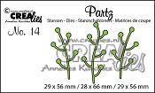 Partz stansen/dies no. 14, Takjes / Twigs