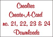 Downloads Crealies Create A Card 21, 22, 23 & 24