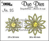 Duo Dies no. 35, Bloemen 17/ Flowers 17