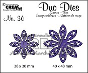 Duo Dies no. 36, Bloemen 18/ Flowers 18