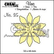 Uno stans/die no. 35, Bloemen 17/ Flowers 17