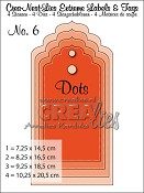 Crea-Nest-Lies Extreme Labels & Tags no. 6 with dots