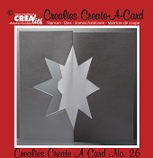 Crealies Create A Card stans no. 26 / Crealies Create A Card die no. 26