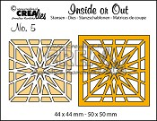 Inside or Out stansen/dies no. 5, Blok ster / Block star