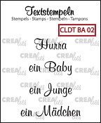 Deutsche Textstempeln BA 02