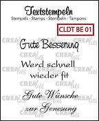 Deutsche Textstempeln BE 01