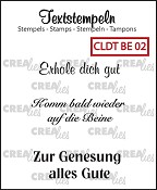 Deutsche Textstempeln BE 02