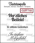 Deutsche Textstempeln T 02