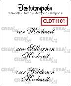 Deutsche Textstempeln H 01