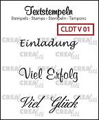 Deutsche Textstempeln V 01
