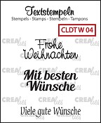 Deutsche Textstempeln W 04