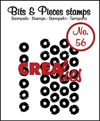 Bits & Pieces no. 56 Grunge big dots
