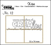 Stans X-tra no. 12: 4 postzegels / Die X-tra no. 12: 4 stamps