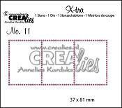 Stans X-tra no. 11: 3 postzegels / Die X-tra no. 11: 3 stamps