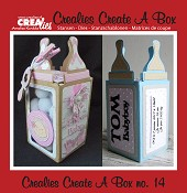 Crealies Create A Box stans/die no. 14, Zuigfles / Baby bottle