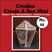 Create A Box Mini stans/die no. 01, Lantaarn / Lantern
