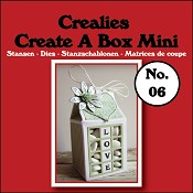 Create A Box Mini stans no. 06 Melkpak/Create A Box Mini die no. 06 Milk carton