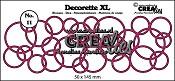 Decorette XL stans/die no. 11, In elkaar grijpende cirkels/ Interlocking circles