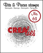 Bits & Pieces stempel/stamp no. 63 Grunge circles in circles