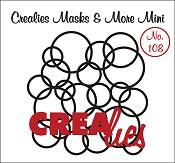 Masks & More Mini no. 108 In elkaar grijpende cirkels/Interlocking circles