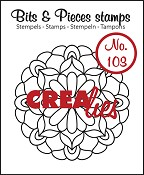 Bits & Pieces stempel/stamp no. 103 Mandala C